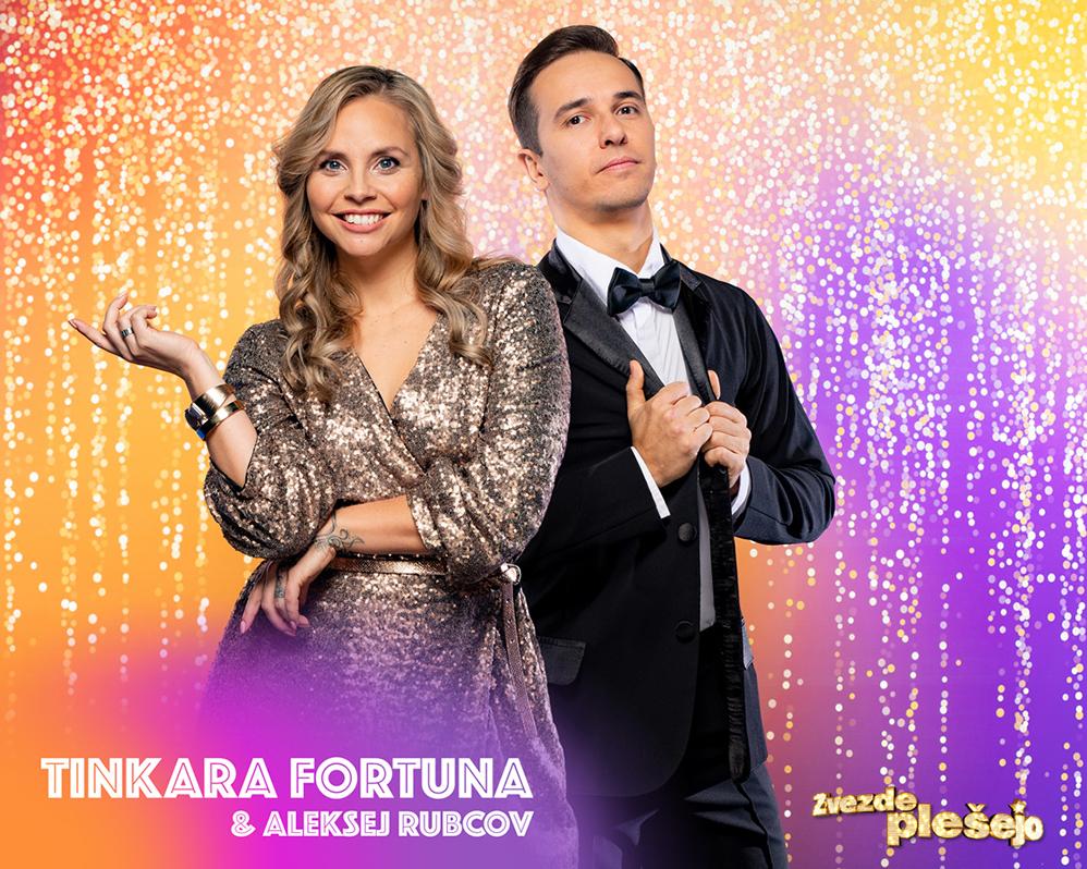 Tinkara in Aleksej do zmage na tretjem šovu Zvezde plešejo!